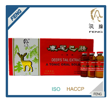 High quality function health food and beverage DEER'S TAIL EXTRACTUM tonic energy drink