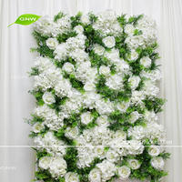 GNW New fancy backdrops indian wedding stage decoration with hydarngea