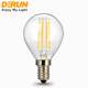 G16 filament 400lm 4w 30we E11 spherical clear home using led lamp bulb for USA , FMT-G45