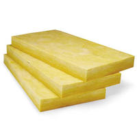Glass wool for panel core and prefabricated container houses