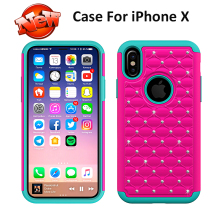 PC+Silicone Material and For Apple iPhones 10 Compatible Brand For iphone X Case Phone Silicone