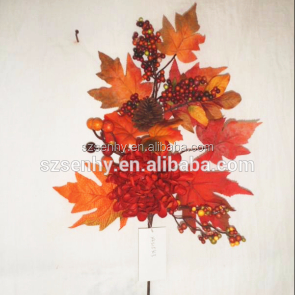 Artificial Leaves Golden Leaves Fall Leaves Wedding Decorations Fall Decorations