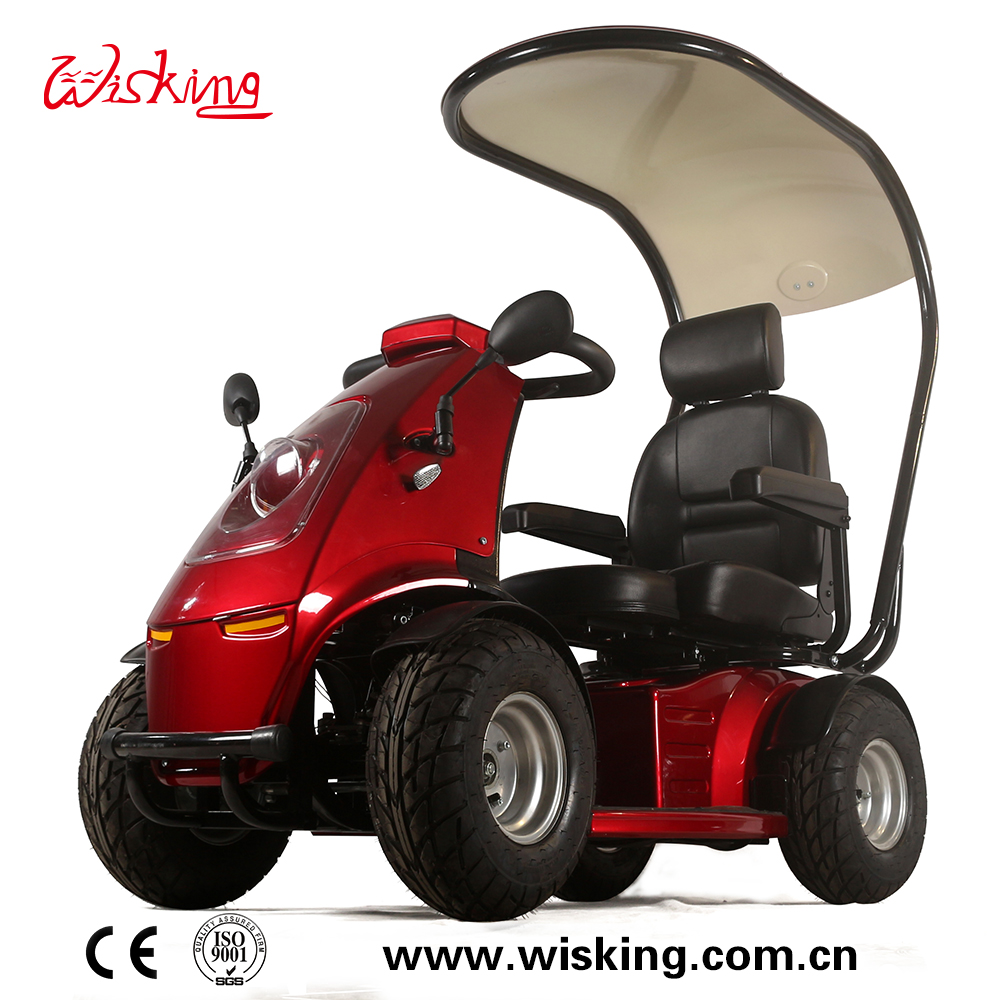 4 WHEELS outdoor handicapped mobility scooter IRON MAN