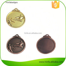 Shiny Finish Olympic Gold Silver Bronze Medals for Sale