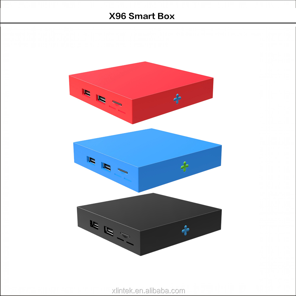 Newest 4K full HD android 6.0 TV box X96 enjoy the full range of information on television,SD HD max.1920*1080 pixel