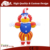 Inflatable tall clown cartoon characters with red hair