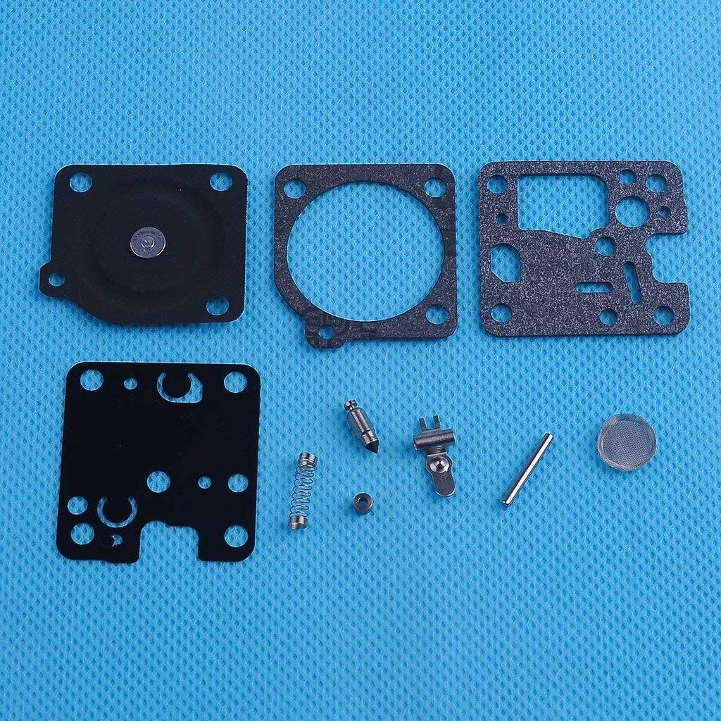 HIPA Carburetor Repair Kit # RB-107 for ES230 ES231 GT200 GT201 HC160 HC180 HC200 PB230 PB231 SRM200 SRM201 SRM230 SRM231 String Trimmer ZAMA Carb