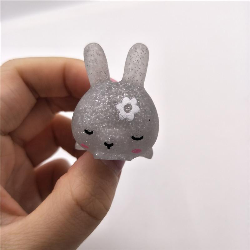 Glitter Mini Mochi Squishy Toys For Kids