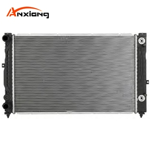 OEM: 8D0.121.251 B QUICK FITT BELOW 632*398*32 AT Auto Parts aluminum brazing radiator