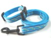 Pet products dog collar & leashes adjustable lead webbing