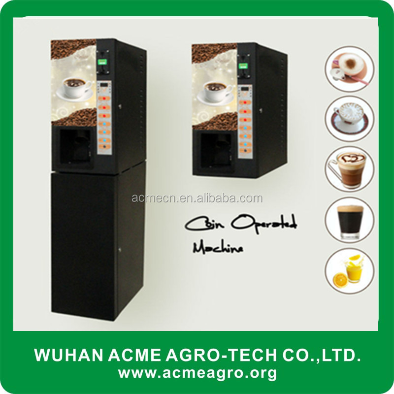 Top selling ATS 103 coffee vending machine/coffee vender with paper cups dispenser