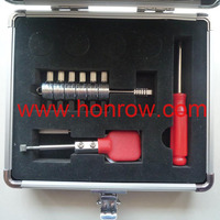 Set of tools for cars to take lock apart tool,car opening tools,picks for locksmith