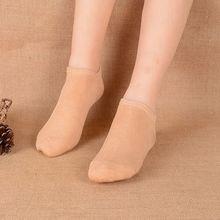 Lovely Bamboo Fiber Sock Slippers for women cute sweet boat socks Absorb sweat antibacterial Invisible socks