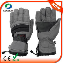 Unisex Waterproof Insert Hiking Cyan M Size Ski Microwave Heated Glove Liners
