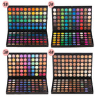 Top selling no logo custom private label high quality 120 eye shadow palette