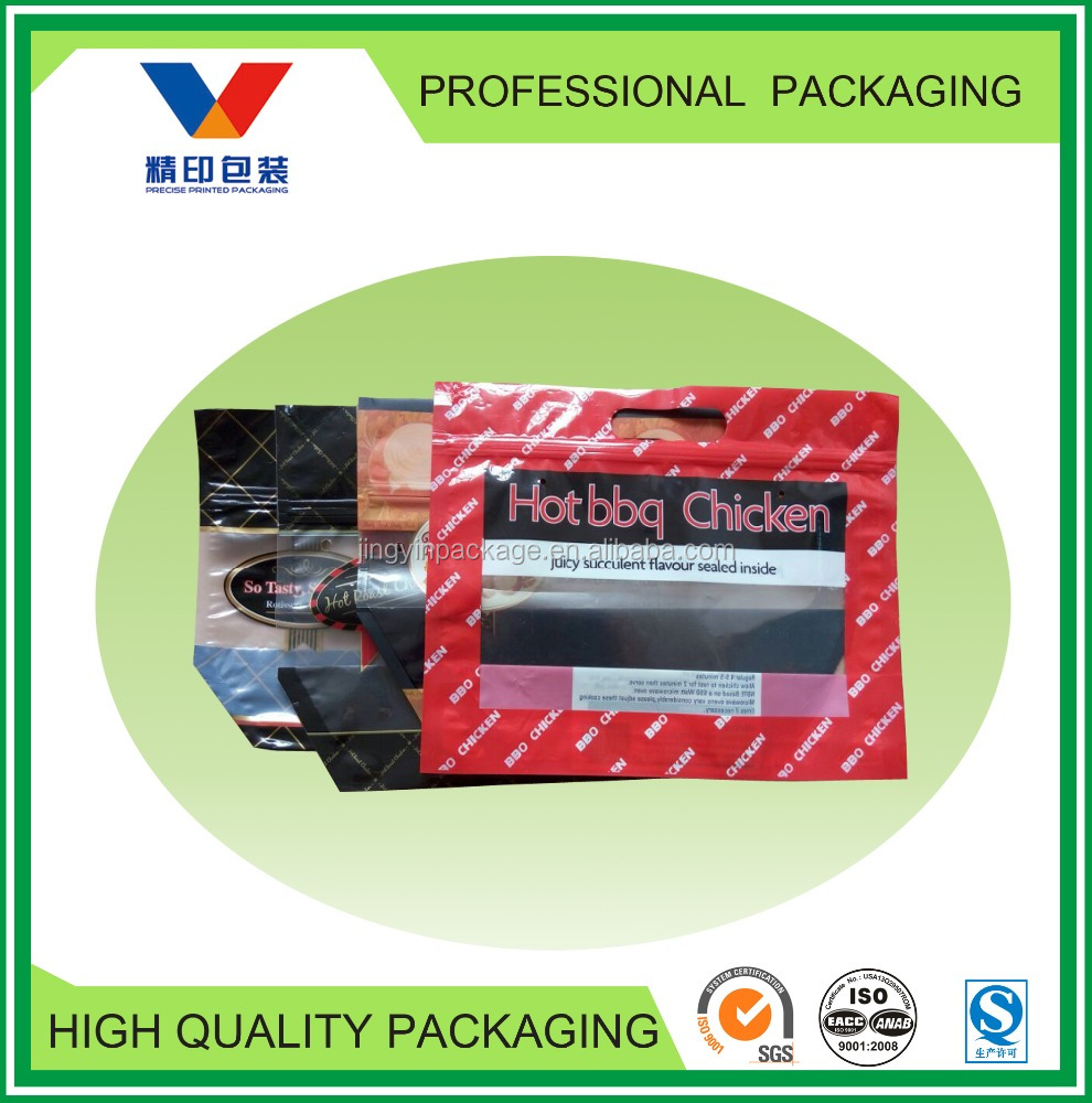 roasted chicken packaging bag/food packaging bag for fried chicken