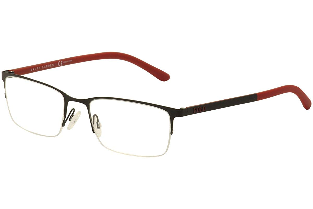 f9664e68b7fb Get Quotations · Polo PH1150 Eyeglass Frames 9277-53 - Matte Black  PH1150-9277-53