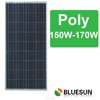 Bluesun best quality hot seller poly 36cells 170w pv solar frame solar panel