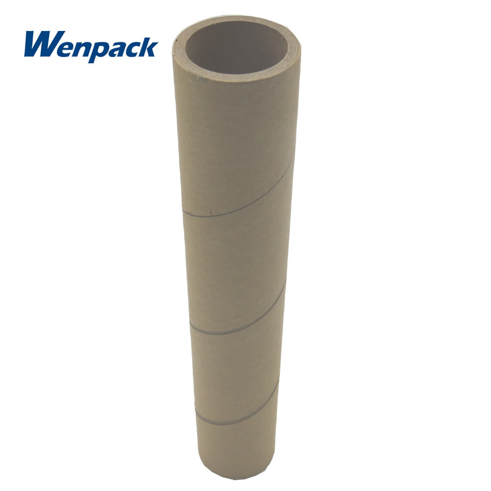 Kraft recycled roll core mailing papier rohr