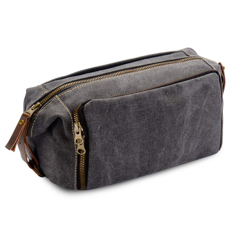 2517ca899970 Custom Canvas & Leather Dopp Kit Mens Toiletry Travel Bag - Buy Toiletry  Bag,16 Oz Washed Canvas Travel Toiletry Bag Lady Pouch Classical Men And ...