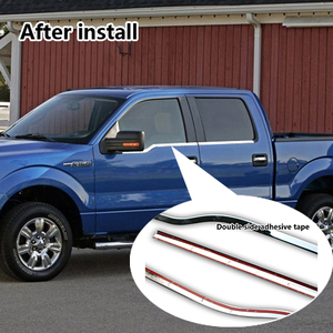 ABS chrome F150 Door frame decorative strip for Ford F150 Auto parts