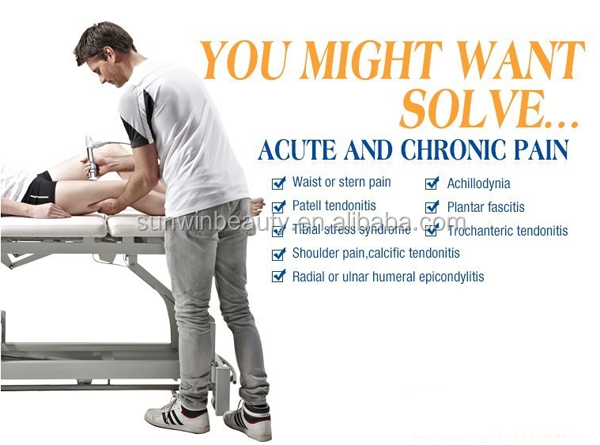 Non-invasive shock wave therapy for plantar fasciitis effectiveness shockwave therapy machine
