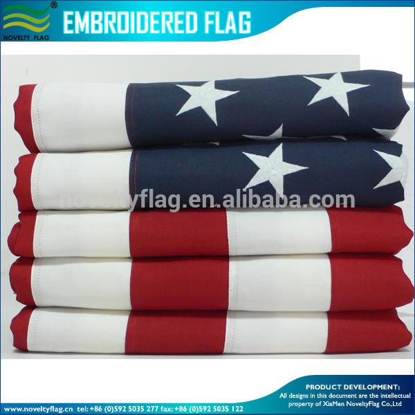 3x5/' 3/'x5/' USA 50 Star Embroidered Nylon Grommet /& Sleeved  50,000 Stitch Flag.