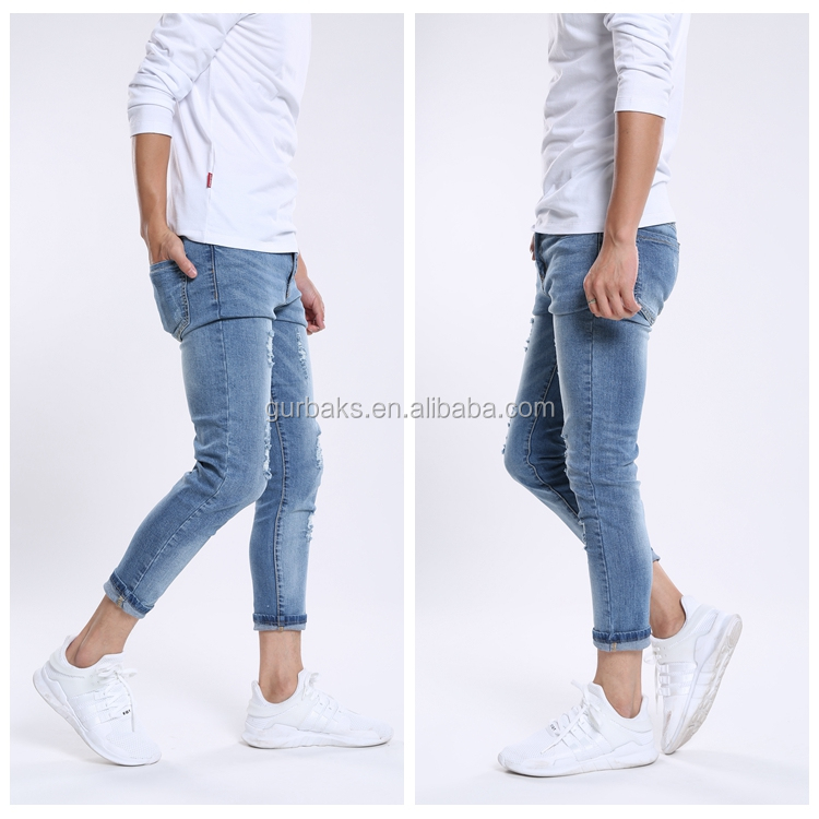 Autumn Fashion Economic Cotton Jeans For Men