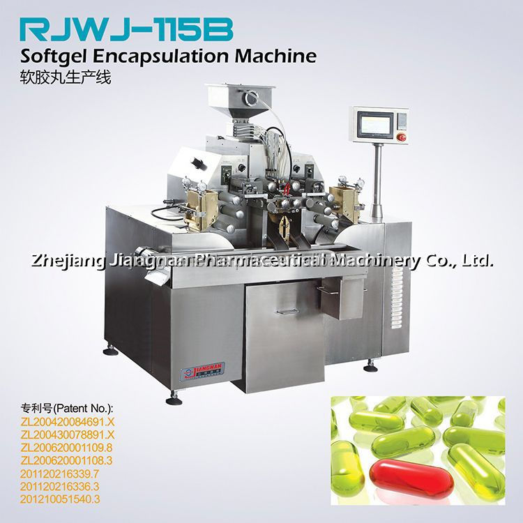 Special Designed Soft Gelatin Capsule Filling Machine