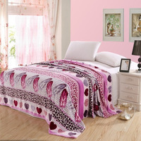 Hight quality 100% polyester flannel fleece blanket with best price blanket in China