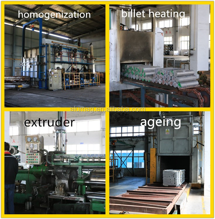 Industrial aluminium profile(extrusion) with factory price