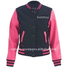 Black And Pink Varsity Jacket, Black And Pink Varsity Jacket ...