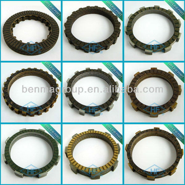 friction plate clutch disc for motorcycle