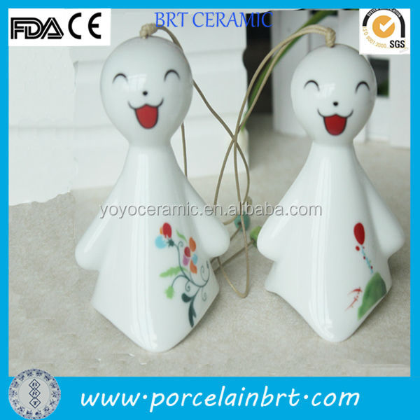 Japanese style windbags ceramic dolls accessories birthday gift