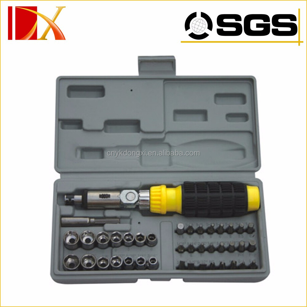 41pcs metal automotive ratchet tool kit