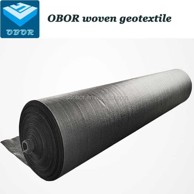 Woven Geotextile Fabric For Road Construction