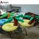 Factory customizable PVC inflatable palm tree cola holder bottle holder for floating beer tray