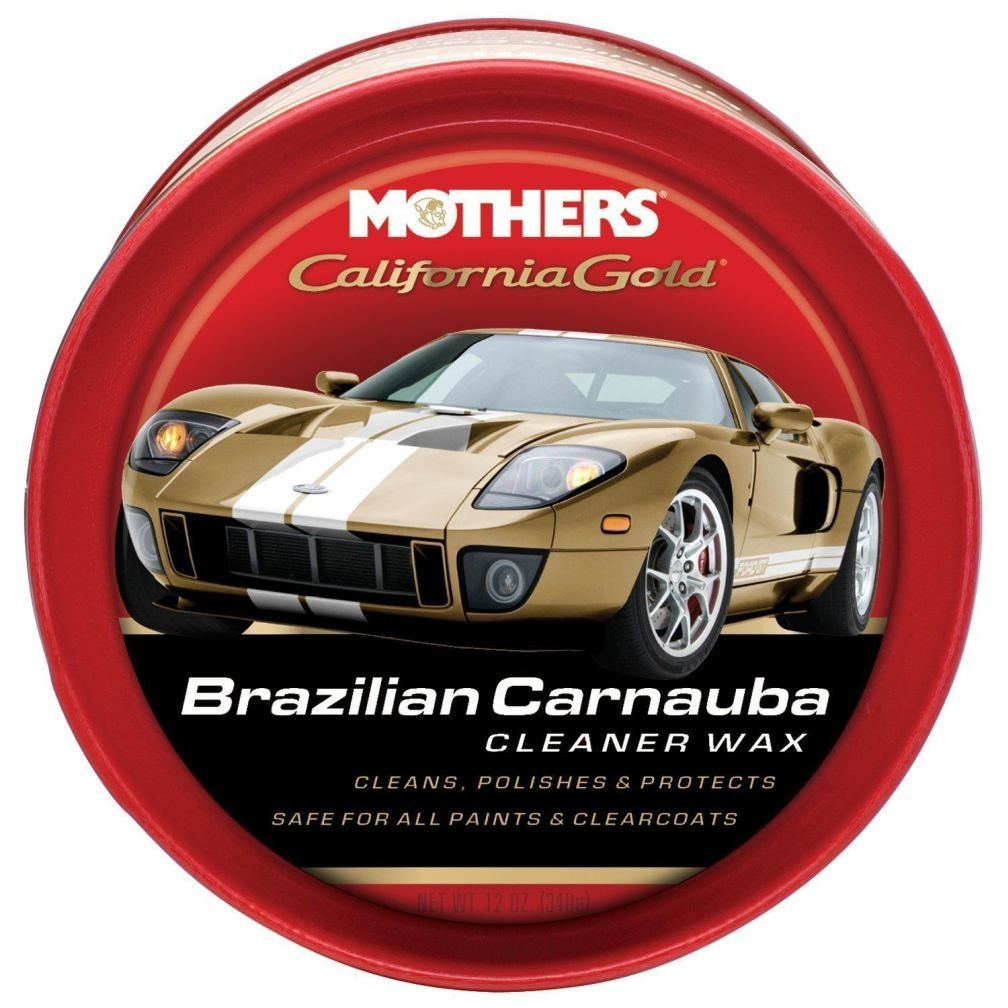 Mothers 05500 California Gold Brazilian Carnauba Cleaner Wax - 12 oz. New