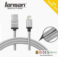 Customized wholesale 1m Android charging cable usb Data usb type-c cable