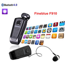 Bests Wireless Bluetooth Telescopic In-ear Sport Headphones With Collar Clip/Call vibration /Voice number Mini Cordless earpiece