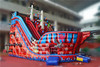 Good quality PVC tarpaulin Inflatable product inflatable dry slide