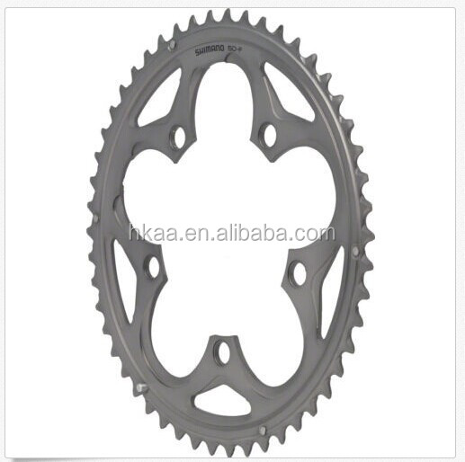 10 speed Compact Outer Chain ring gear - Silver fixed gear