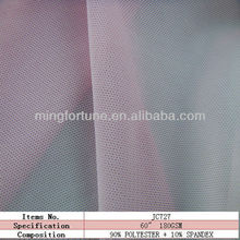 Fine polyester fabric netting stretch mesh