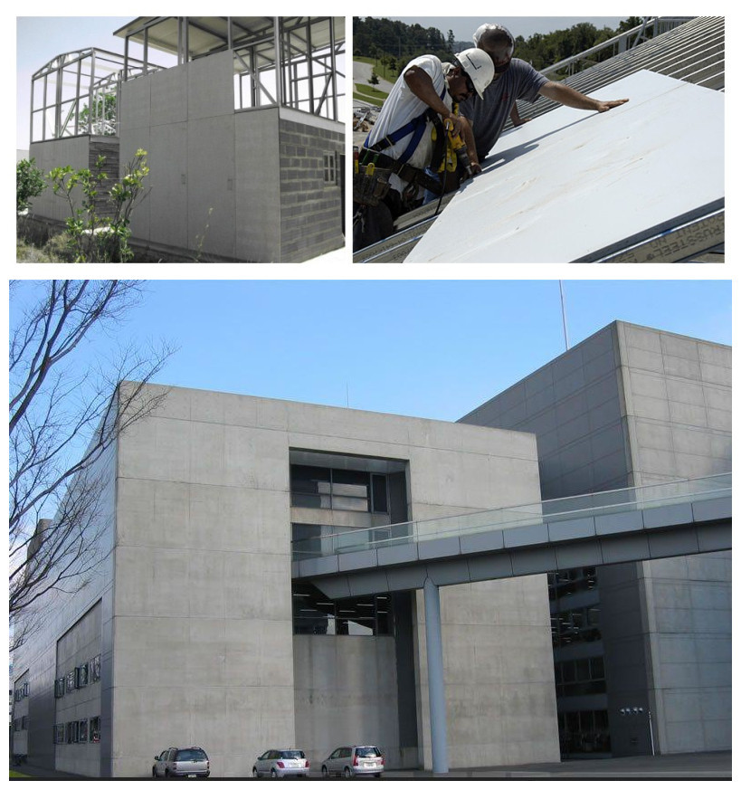 Fireproof Exterior Fiber Cement Roof Panel Fiber Cement Board For