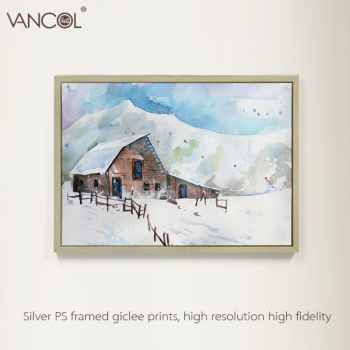 Famous Winter Landscape Canvas Oil Painting Of Thomas Kinkade Buy Famous Winter Landscape Canvas Oil Painting Famous Winter Landscape Canvas Oil