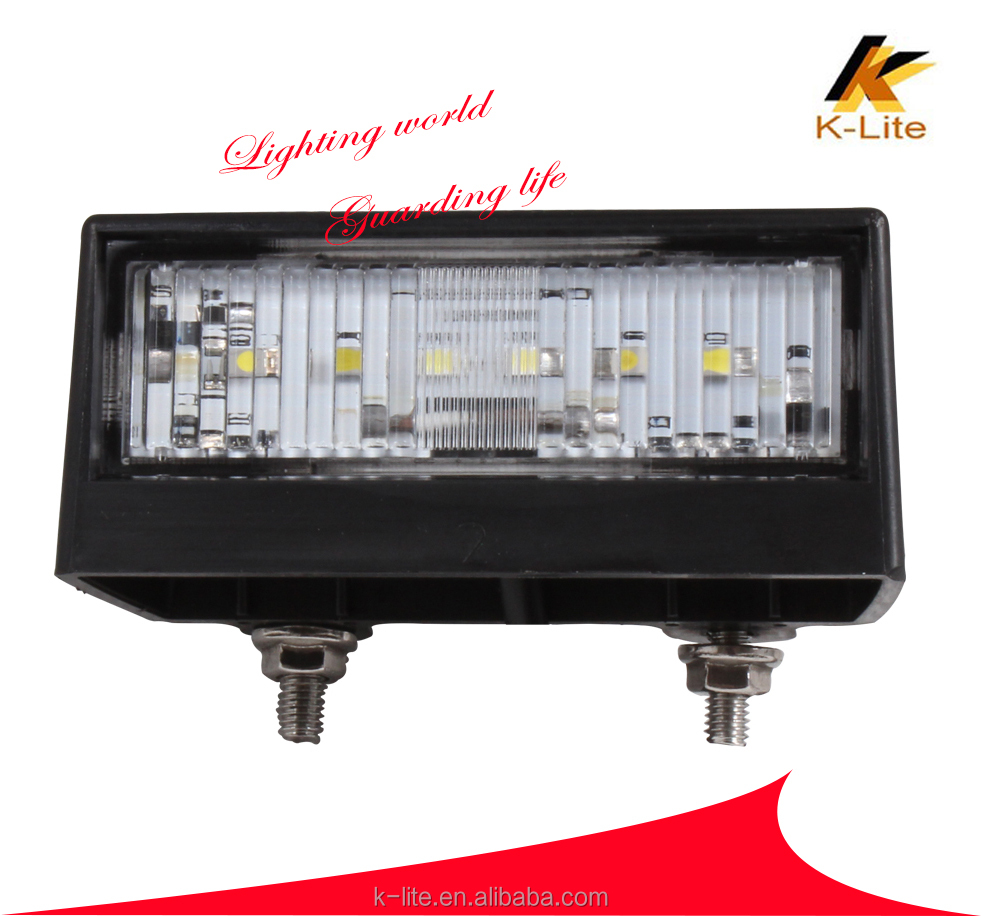 LM-409 License plate light for motorcycles