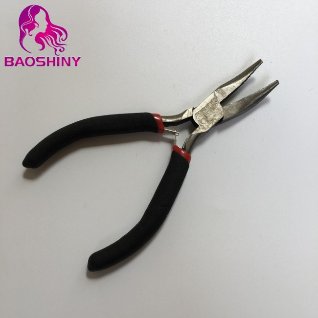 Hair Extension Pliers Hook Needle Micro Ring Hair Extensions Tools