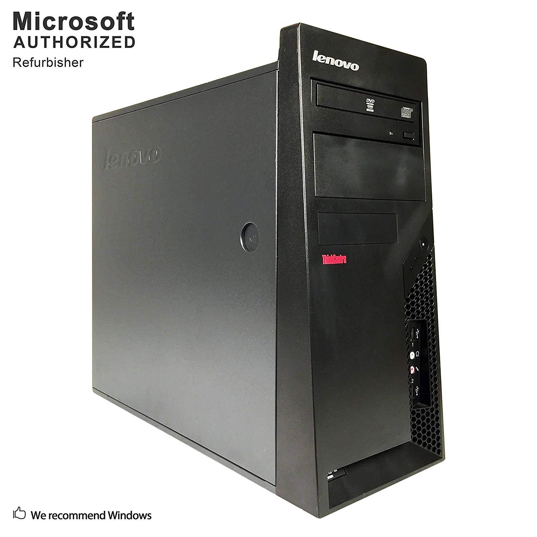 2018 Lenovo Think Center M58 TW Desktop Computer, Intel Core 2 Duo E8400 3.0G, 8GB, 240GB SSD, DVD, WiFi, BT 4.0, VGA, DP Port, W10H64 (Certified Refurbished)-Multi-Language Support English/Spanish