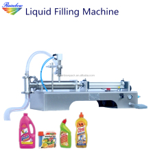 Semi automatic pneumatic deodorant/toilet cleaner filling machine