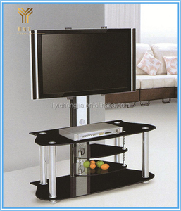 Glass Display Cabinet Modern Living Room Wall Cabinet Shelf TV Stand